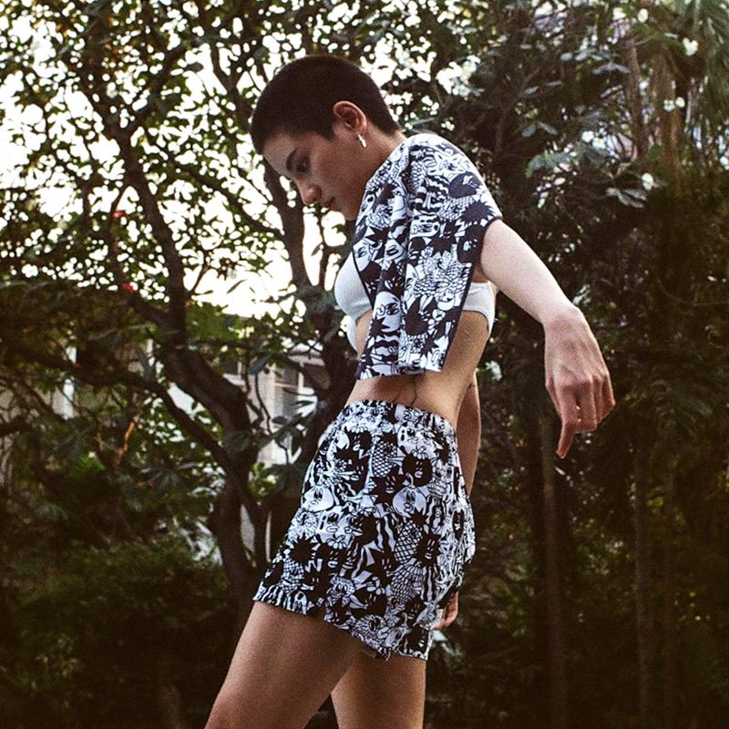 BRINK阿罗裤日本情侣短裤内裤男女士卡通内裤纯棉可爱大码ins睡裤11-28新券