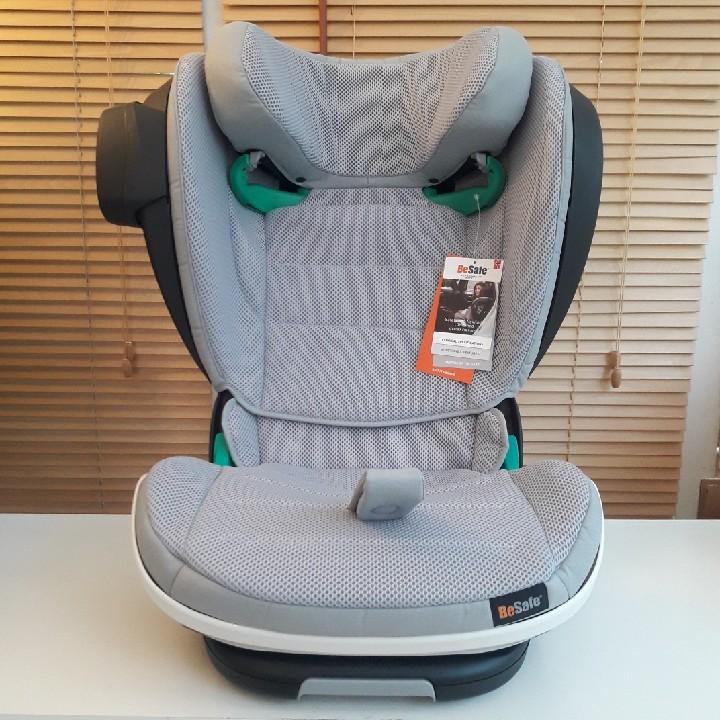 挪威Besafe贝塞菲iZi Flex大龄汽车安全座椅车载adac3-12岁i-Size