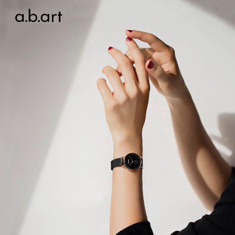 abart手表女士轻奢ins风小众时尚简约小表盘dw正品名牌ck石英腕表