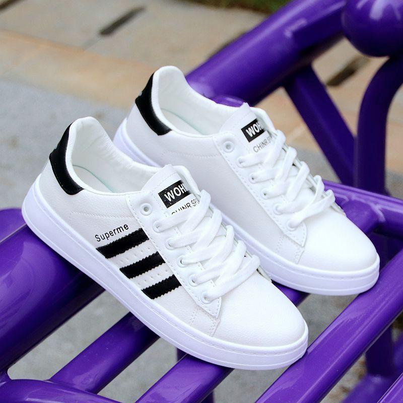 白色男鞋春季潮鞋2020新款小白鞋韩版百搭潮流休闲板鞋男士运动鞋