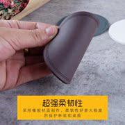 杯垫硅胶加厚创意欧式防滑防烫杯垫隔热垫餐桌垫PVC圆形茶杯垫子