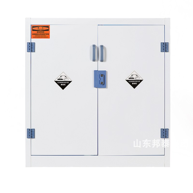 Chemical reagent storage cabinet PP material anticorrosion cabinet acid and alkali resistant cabinet PP vessel cabinet 45 gal safety cabinet medicine cabinet