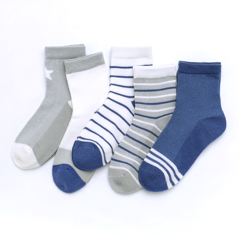 Children's socks summer thin pure cotton boy summer mesh breathable ultra thin boy middle and big boy spring and summer boy spring and Autumn