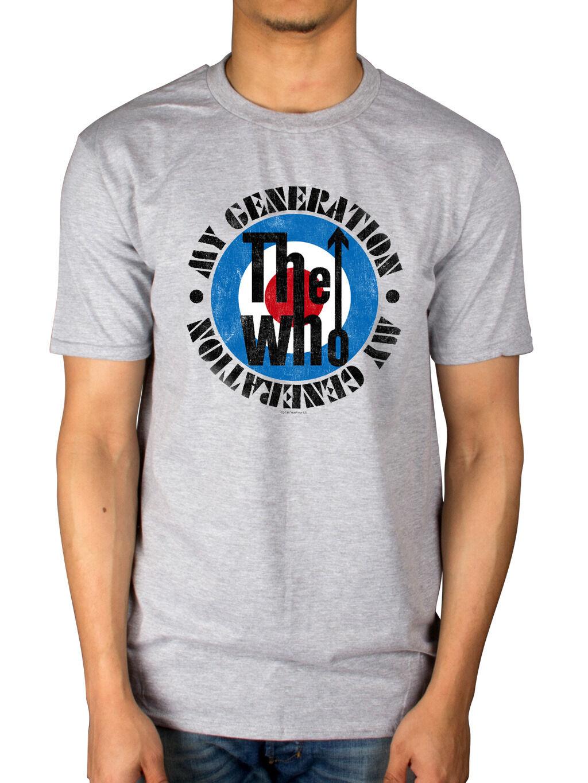 官方谁一代新的 T恤 Merch Quadrophenia是下一次免费舞蹈短袖