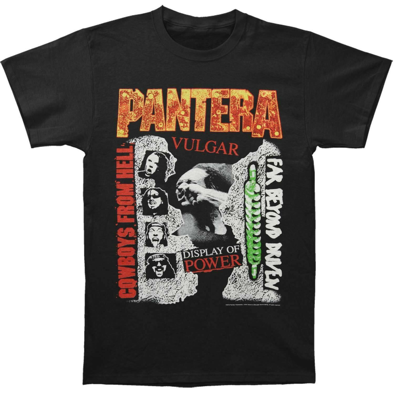 潘特拉乐队男 3 相册修身 T恤小黑色高端定制短袖潮流印染嘻哈