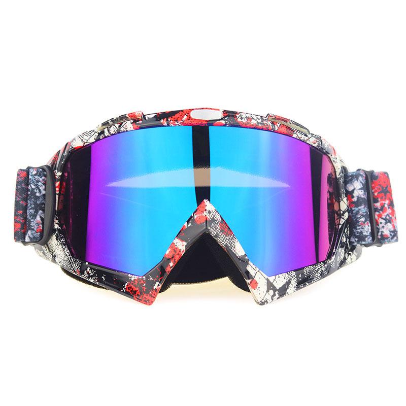 工厂现货摩托车越野风镜滑雪眼镜头盔护目镜骑士装备男女户外眼镜