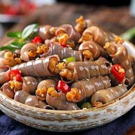 钉螺即食 麻辣海鲜特产鲜零吃青岛制品蛳贝类送小吃现做休闲甜辣图片