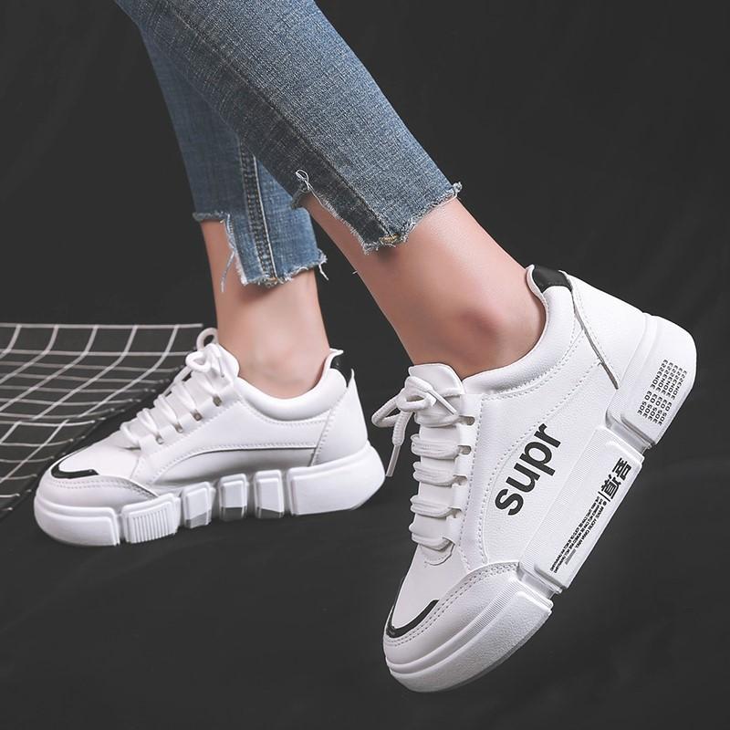 2019秋季新款潮鞋夏款小白鞋女帆布鞋韩版学生百搭白鞋运动鞋板鞋