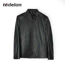 13270392TEDELON太子龙澳洲进口超A级立领绵羊皮衣