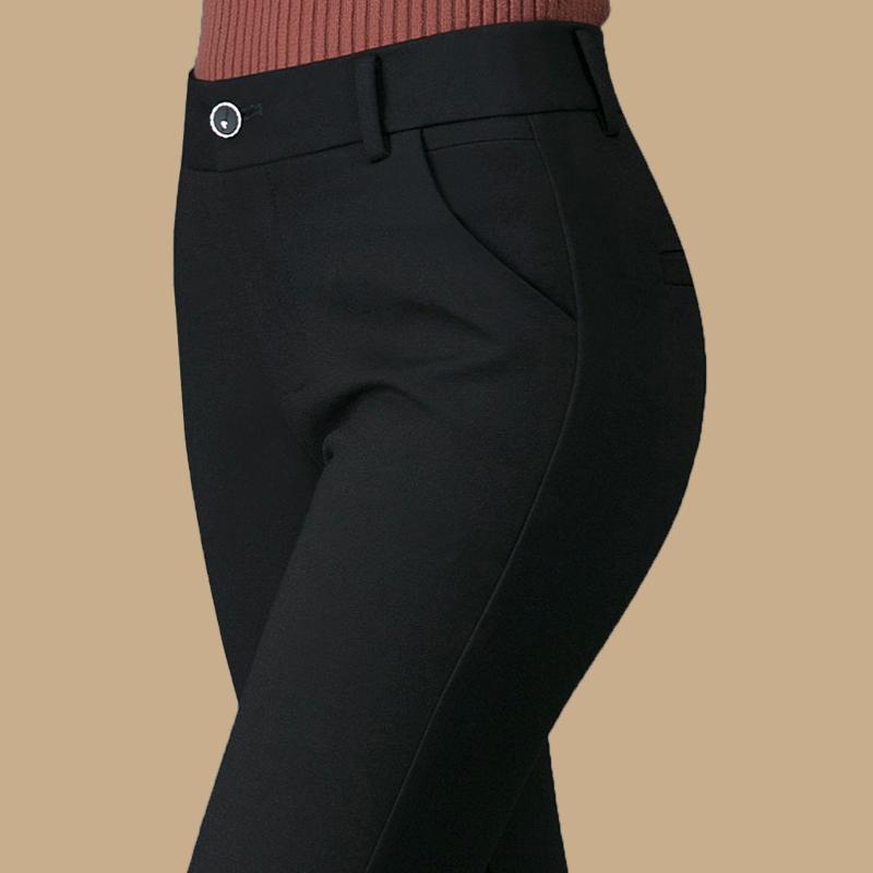 中年高腰外穿中老年女裤妈妈裤子