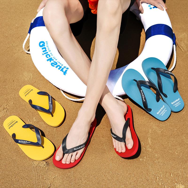 ㊙潮流人字拖鞋男夏季韩版夹脚拖凉鞋防滑沙滩潮流橡胶软平底外穿