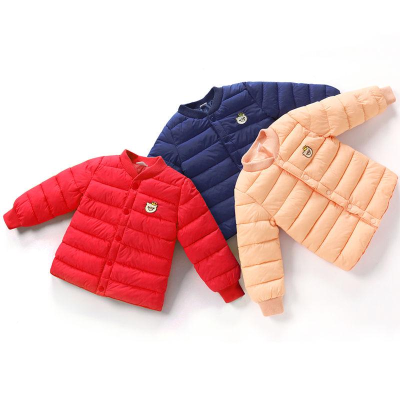 新款宝宝儿童羽绒棉服内胆婴幼儿中小童棉衣短款男童女童棉袄保暖图片