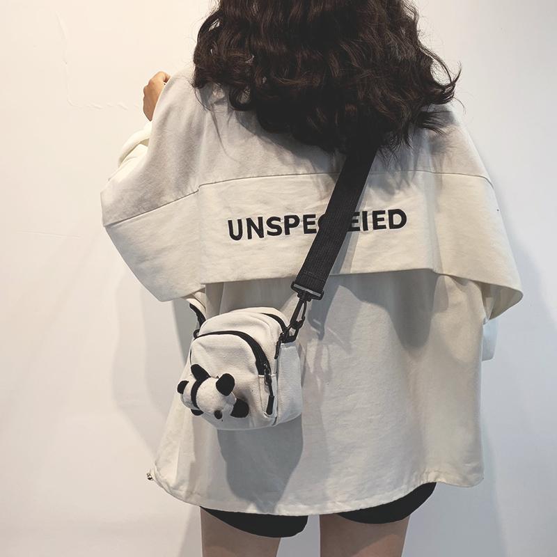 迷你小包包女包新款2020日系学生百搭斜挎包女ins网红可爱帆布包