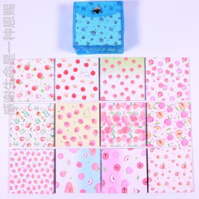 Colorful origami paper jam with pattern small square toy folding printing paper folding