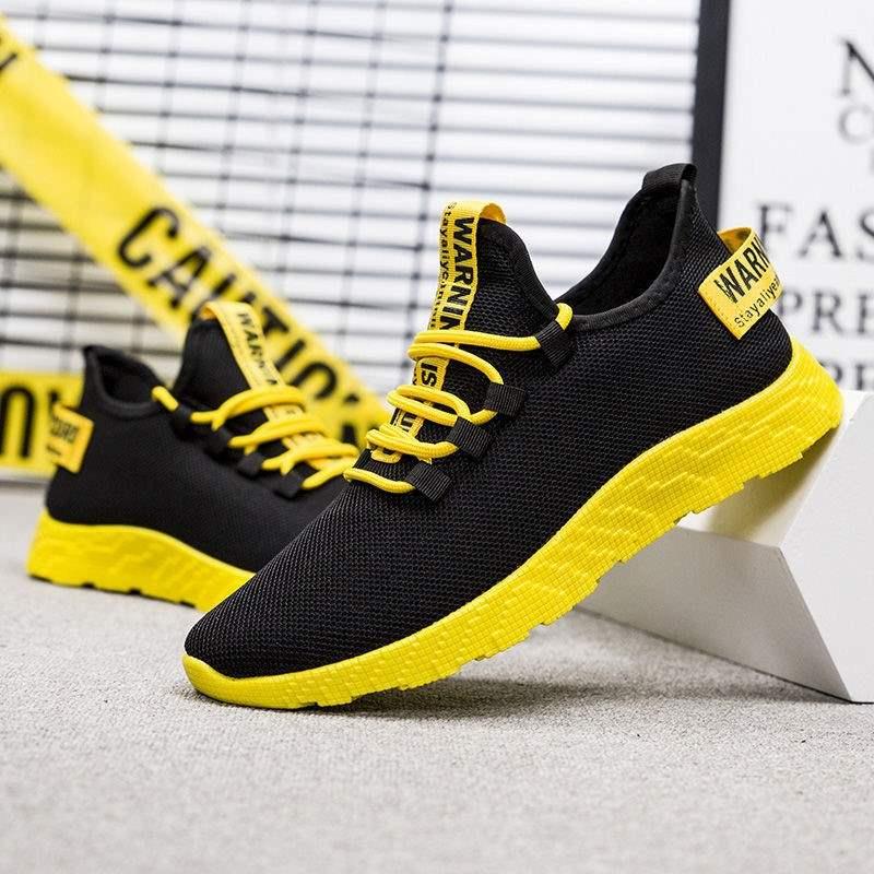 タオバオ仕入れ代行-ibuy99 运动鞋 流行男鞋运动户外休闲鞋轻便单鞋内里透气跑步健身鞋
