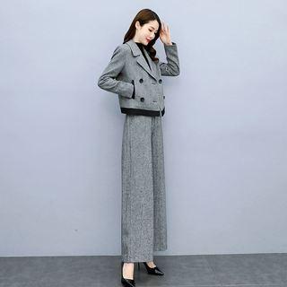 西装韩版套装女2021年秋装新款女装洋气两件套气质轻熟风御姐早秋