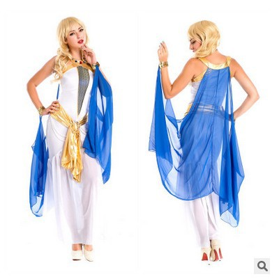 King costume temperament ball king costume Greek Egyptian god role play stage costume Halloween Dress