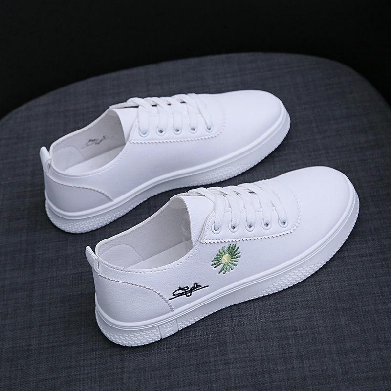 タオバオ仕入れ代行-ibuy99|运动鞋|女鞋小白鞋女学生韩版百搭新款鞋子ins女原宿平底透气休闲运动鞋