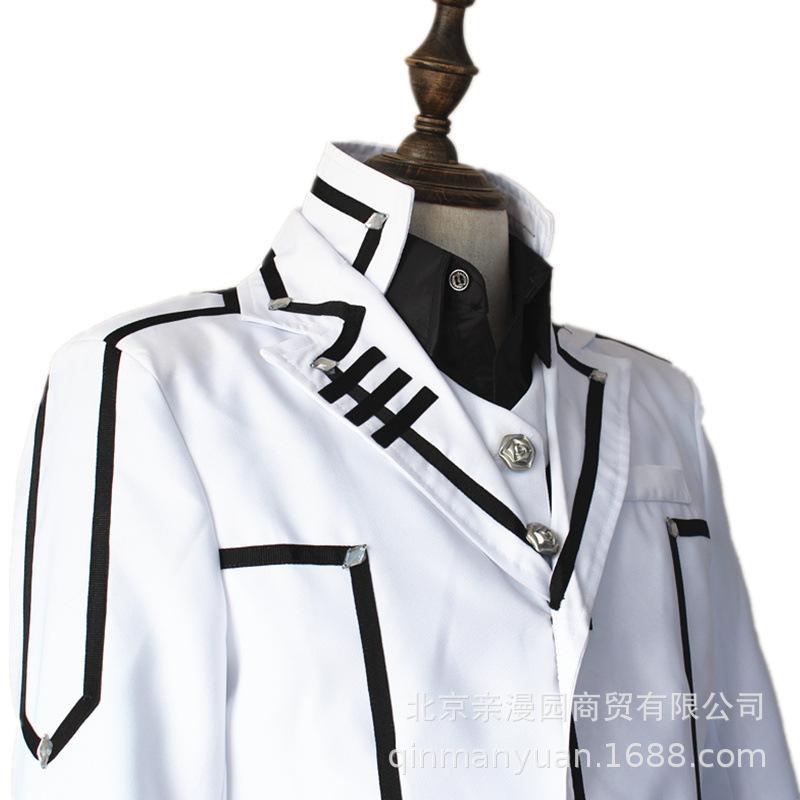 男现货制服漫展cosplay服装【】吸血鬼骑士玖兰枢cos服白色
