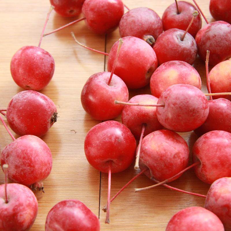 海棠果新鲜水果东北花红果海红果樱桃小苹果酸甜小脆稀有当季整箱