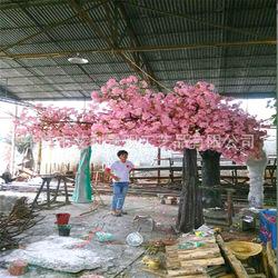 仿真半边樱花桃花树可订做各种不同规格不同品种的假树