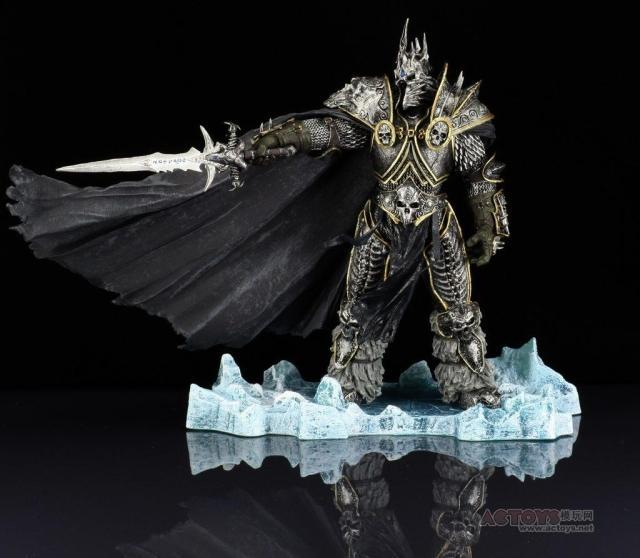Hand made model of Arthas death knight, Lich King of dc7 generation in world of Warcraft
