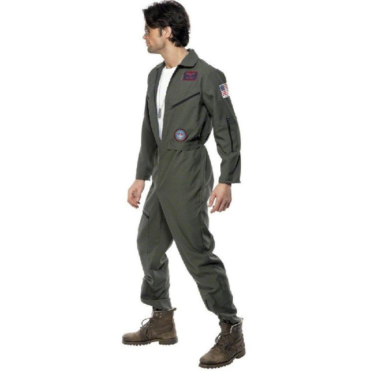 装角色扮演工人装空中飞行员服装海消防员服演出服万圣节服装男