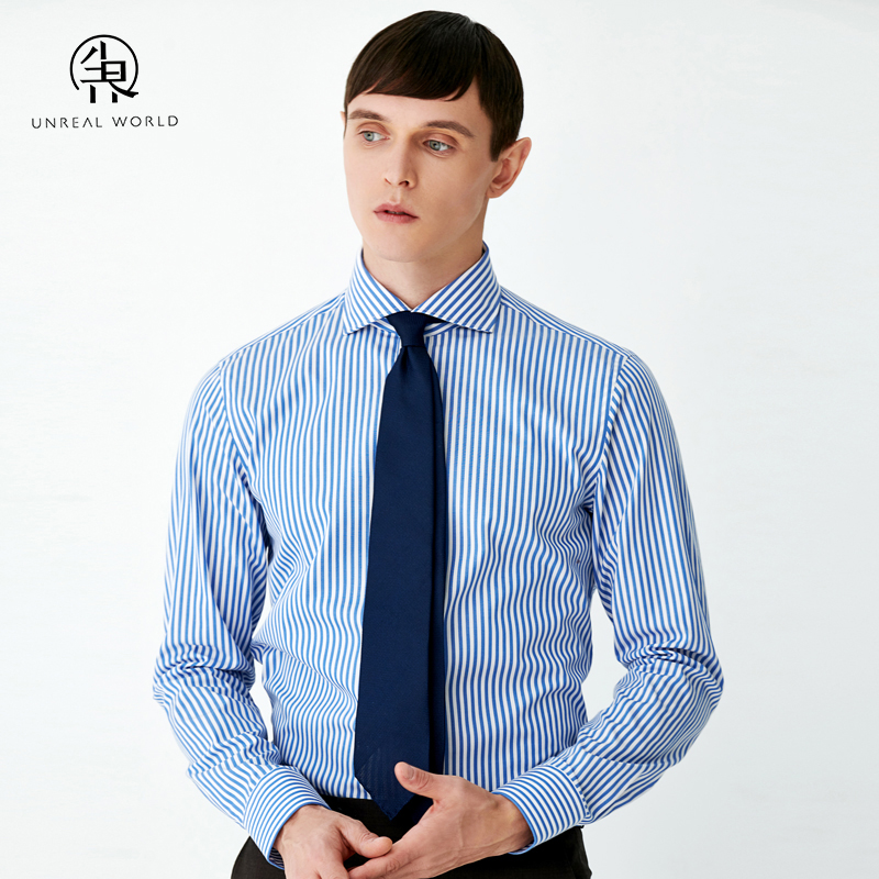 Mens long sleeve business fashion shirt formal dress