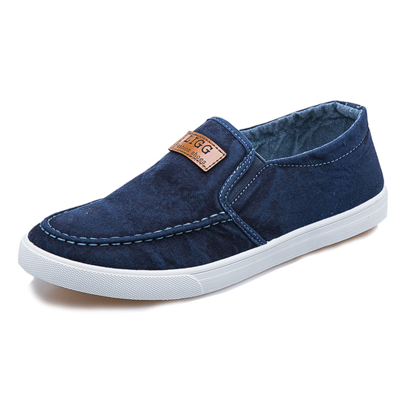 Japanese cloth shoes, mens casual shoes, fathers middle-aged shoes, working Oxford soled working shoes, breathable flat soled mens shoes
