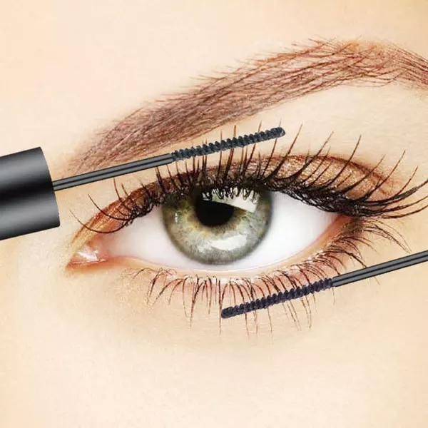 [second half price] fine brush head mascara is durable, natural long and thick, waterproof and curly.