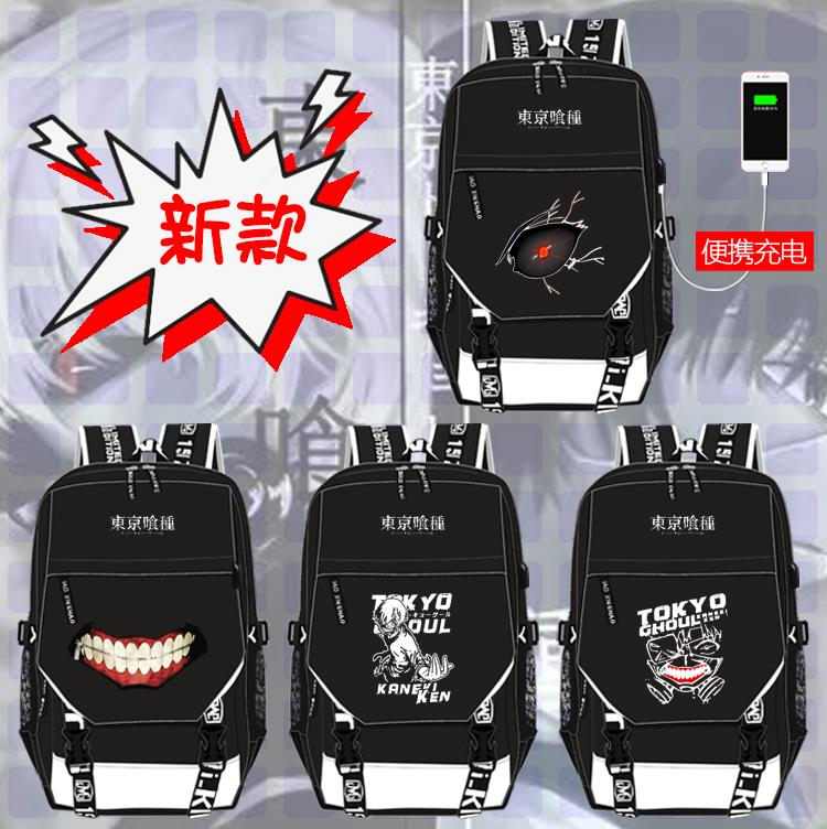 Knapsack gold wood research Dong Xiang Tokyo Ghoul schoolbag