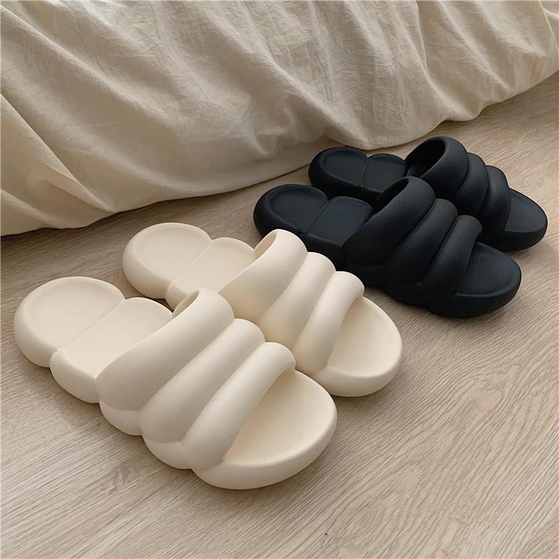 情侣居家拖鞋男女室内家用日式时尚厚底防臭防滑浴室洗澡凉拖鞋夏
