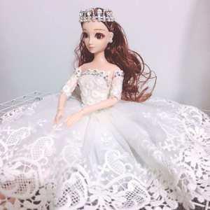 可爱婚纱娃娃汽车用品车饰摆件小车上车内装饰品车载漂亮内饰摆设