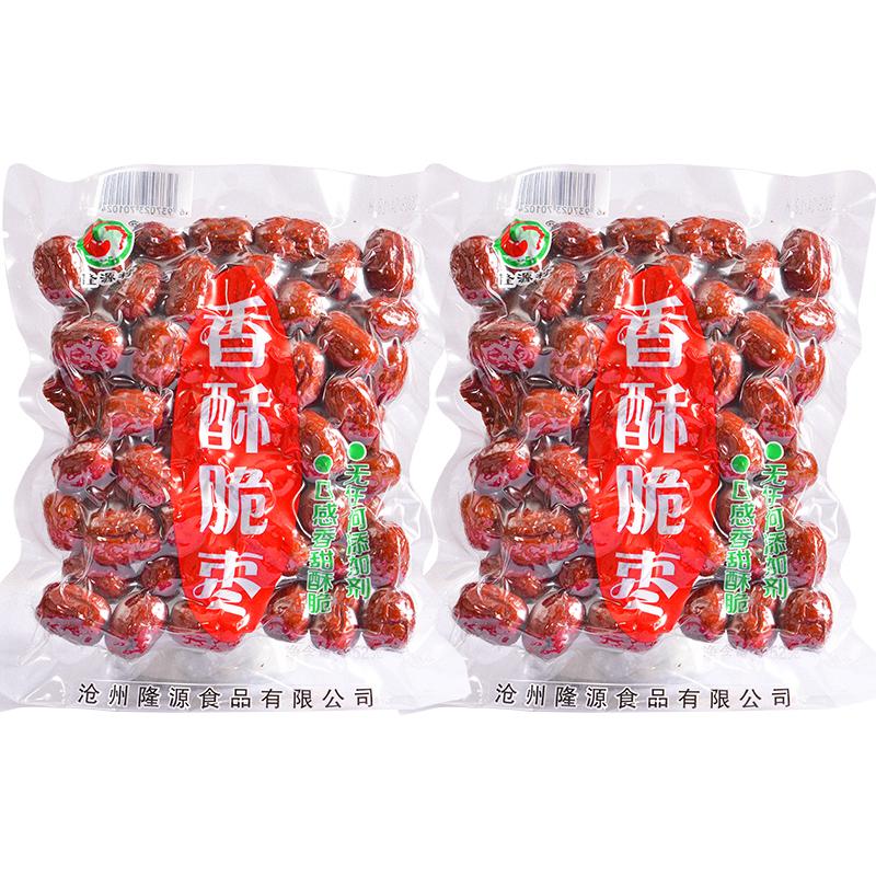 隆源村香酥脆504克/ 1008油炸红枣限8000张券