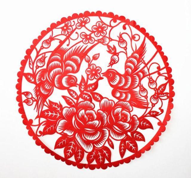 送老外生肖狗书房礼品戏曲人物剪纸礼物纪念墙壁装饰春节新年新款