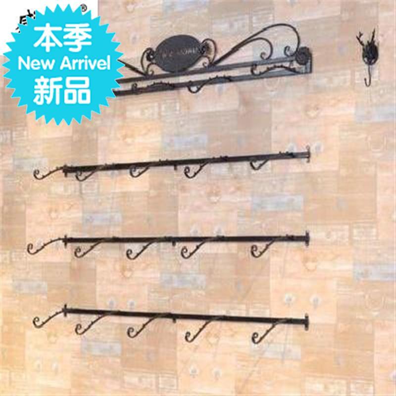 。式铁艺货架单钩丝巾文胸架子展p示架壁挂。内裤架女装袜子壁。