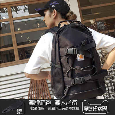卡哈特carhartt 男女双肩包wipe kickfip Backpack背包滑板包