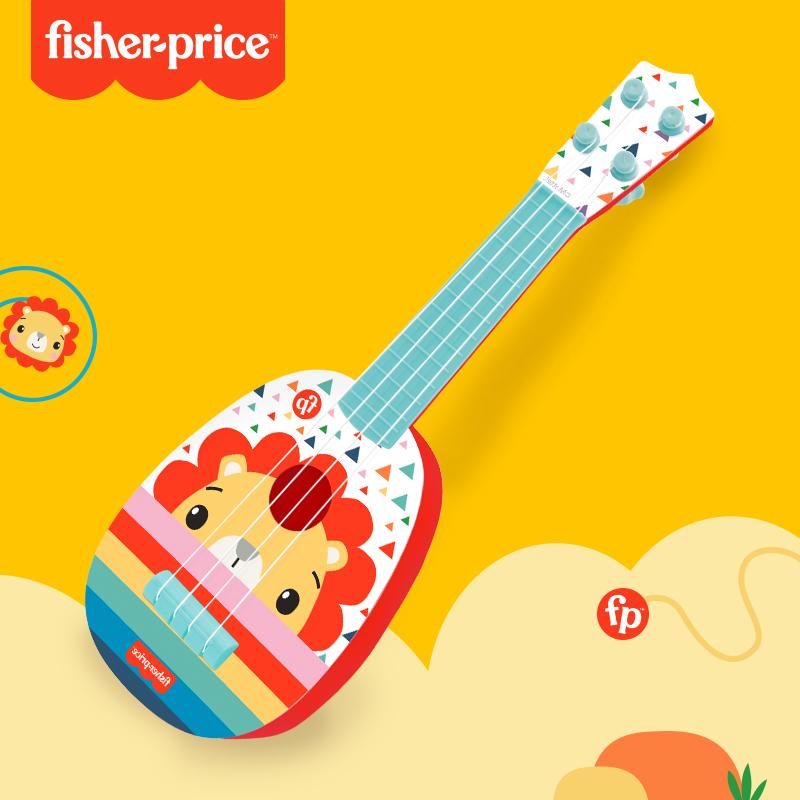 纽乐费雪儿童吉他玩具宝宝婴儿尤克里里初学者可弹奏男女孩小提琴