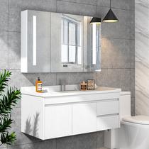 欧式小户型浴室柜洗脸盆柜组合落地式卫浴柜卫生间洗手漱台盆落地