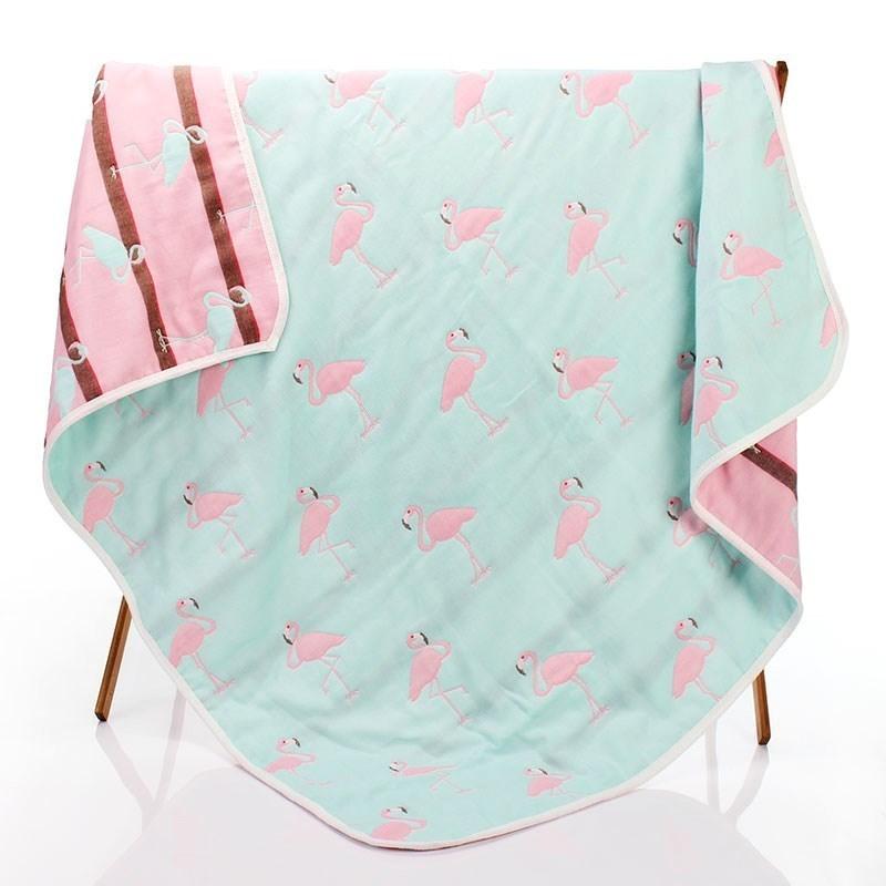 婴儿浴巾g纱巾超薄小孩新生儿童专用夏季卡通毛巾被纱布包裹小。