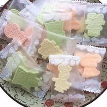 童年喜糖利批发8090怀旧小零食店后小时候80后90干吃酸奶片软糖