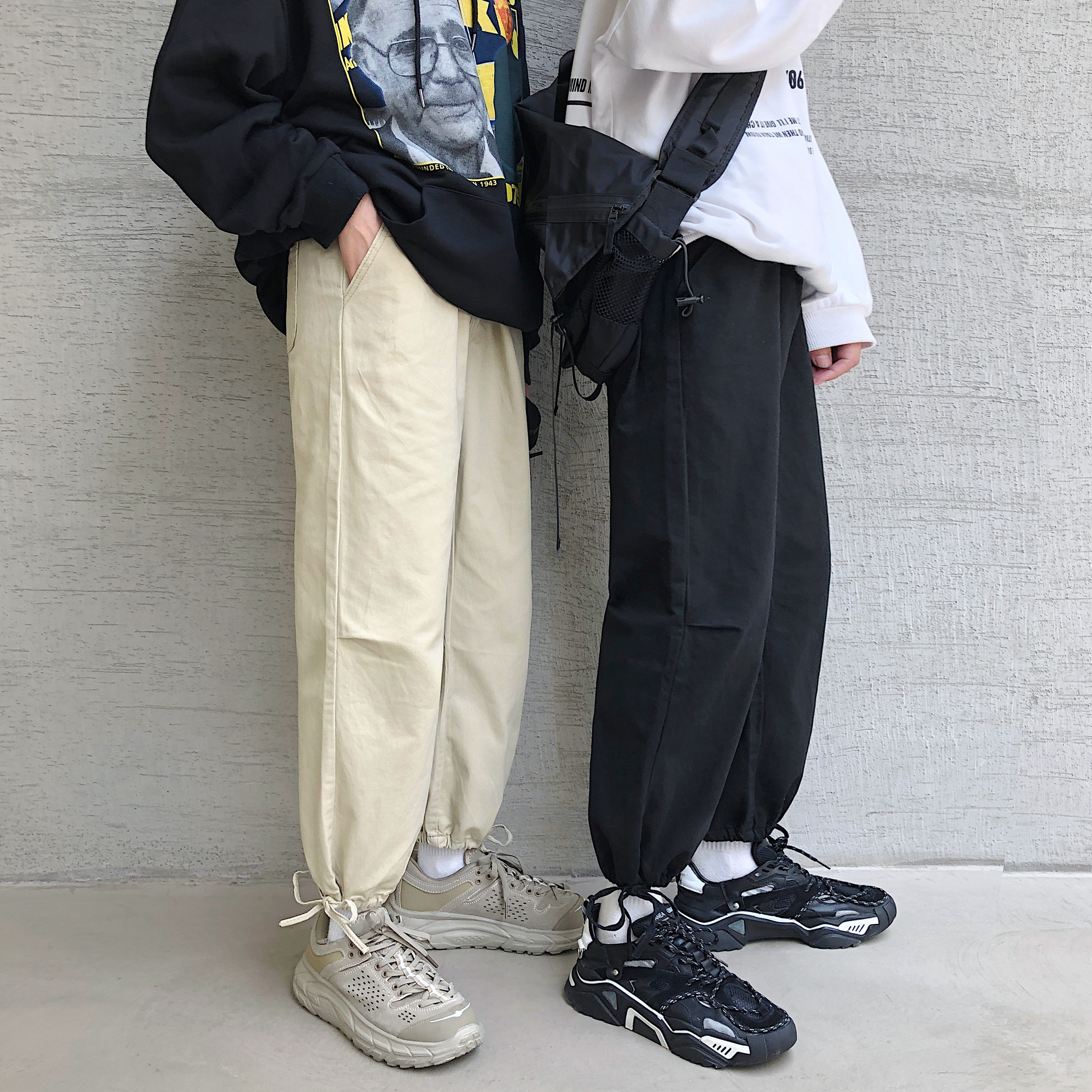 Casual pants are sold well in class clothes; new autumn lovers clothes: c319a-x82 P50 control 68