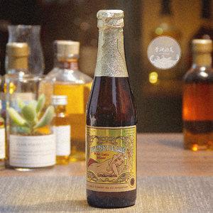 单瓶lindemans桃子250ml进口果啤