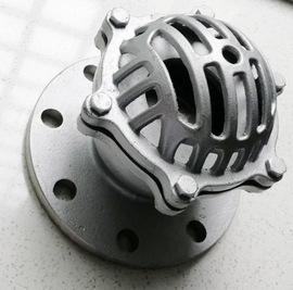 不锈钢304海底阀法兰式吸水阀H42W-6P/16P升降式水泵花兰头止回阀