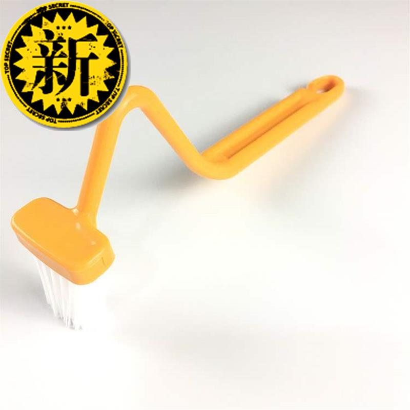 Cleaning branch toilet 2S groove shape ^ brush h gap brush elbow window frame cleaning groove% Brush T&