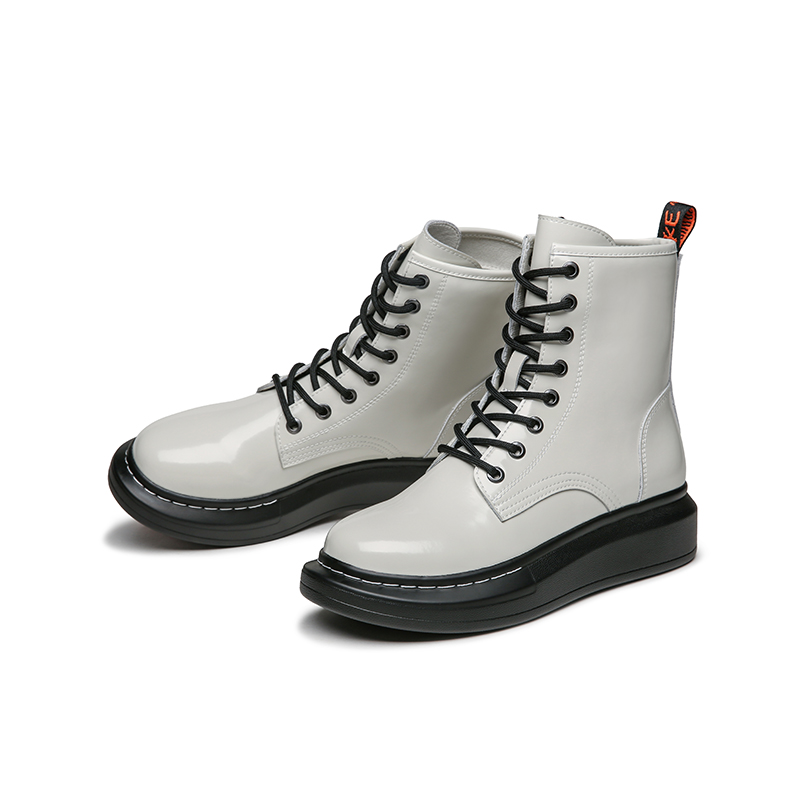 Red Dragonfly womens shoes autumn and winter 2020 new British style high top womens Boots