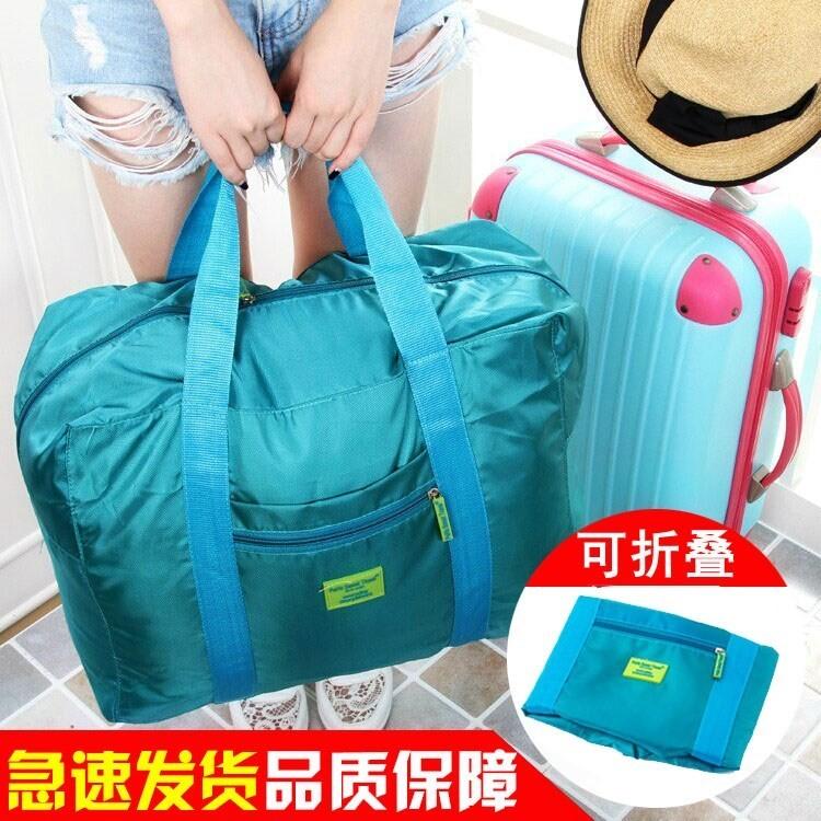 Travel foldable bag portable large capacity mens and womens travel short distance portable storage bag luggage bag storage bag