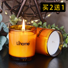 Buy 2 to 1 Imported Essential Oil Fragrance Candles IKEA Aromatherapy Candle Gift Box, Soybean Wax for Tranquilizing Mind and Helping Sleep to Purify Air