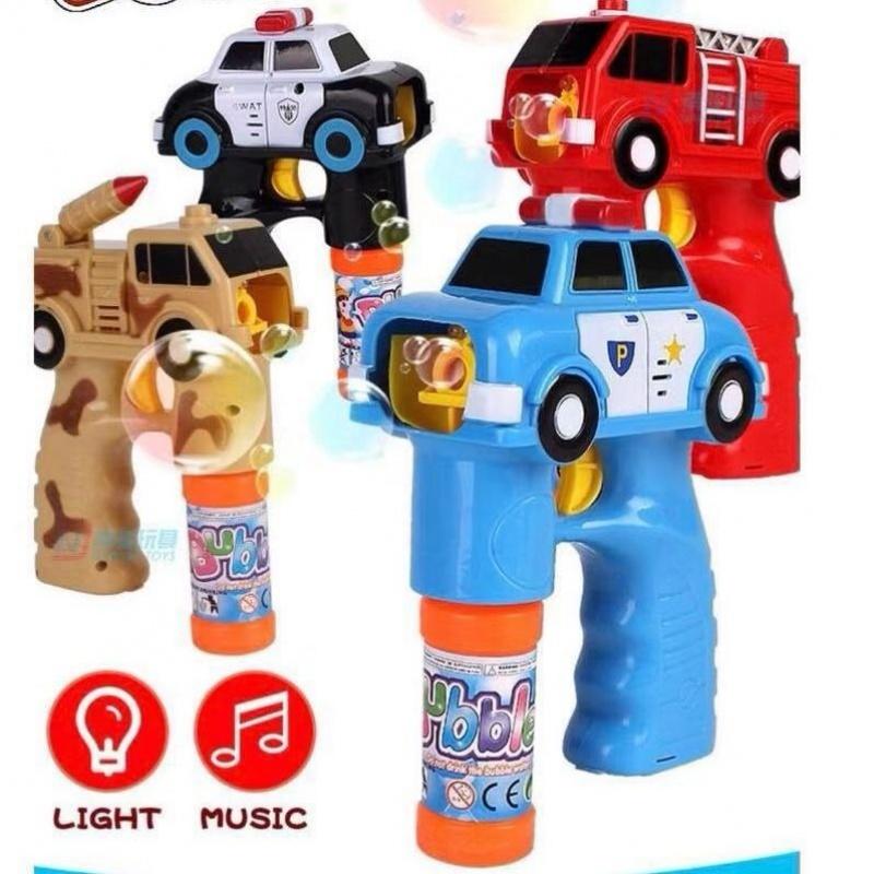 儿童电动汽车消防车自带音乐泡泡枪热销0件五折促销
