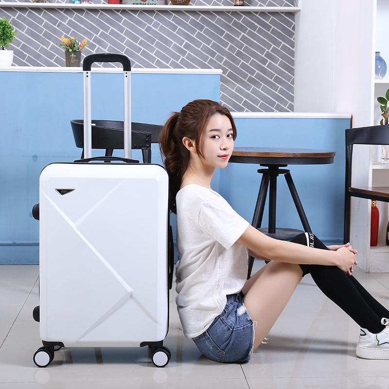 11月30日最新优惠行李箱男潮拉杆箱万向轮拉链皮箱包大容量旅游密码旅行箱子可坐人